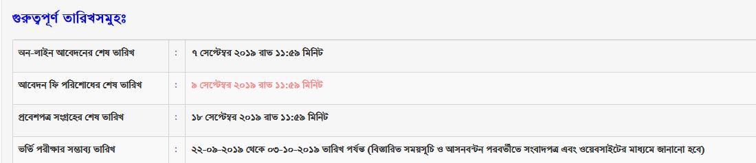Jahangirnagar University Result, Seat plan 2019-20 | www juniv edu